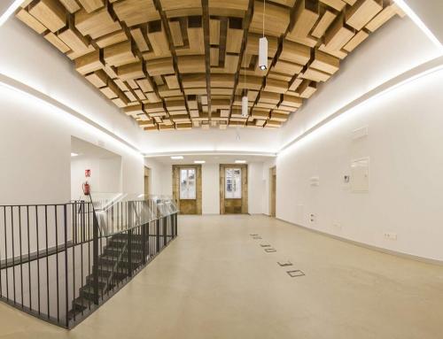 La rehabilitación del antiguo consistorio de Lalín, nominada a los premios del COAG 2017