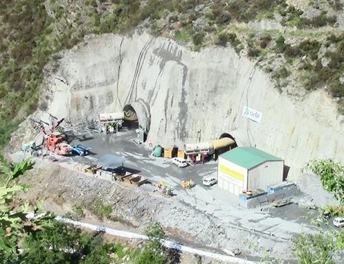 Túnel de O Corno (AVE Madrid-Galicia)